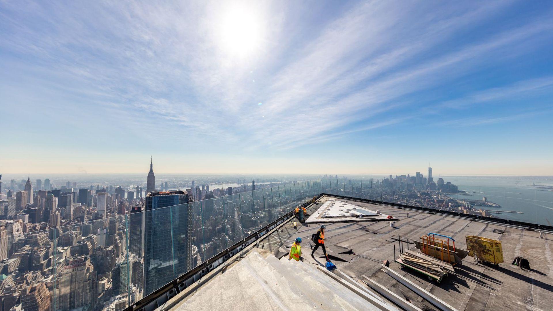 Edge, el nuevo mirador de Nueva York: toda la información