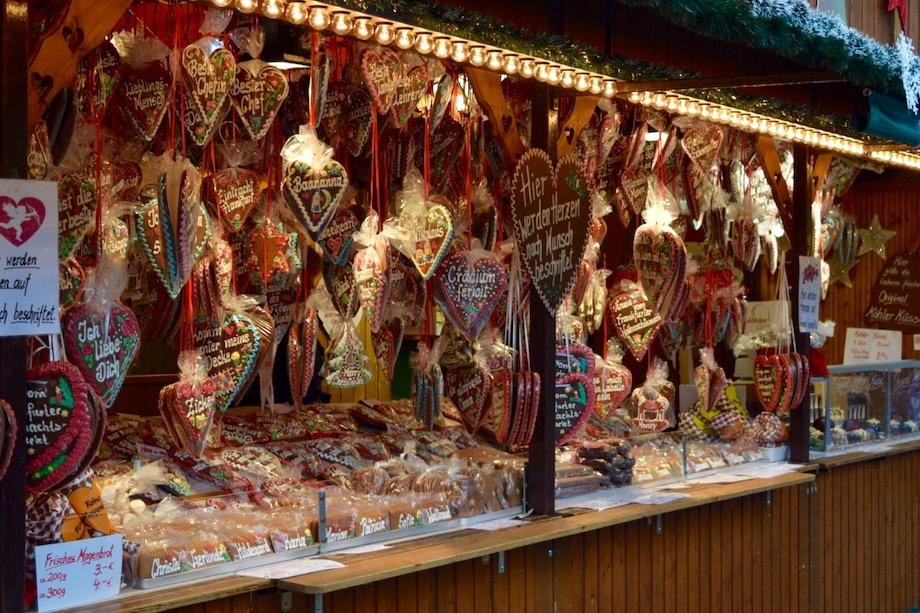 Dulces típicos del mercado de Navidad de Frankfurt