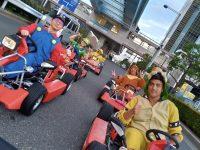 Siéntete como Mario Kart por las calles de Tokio