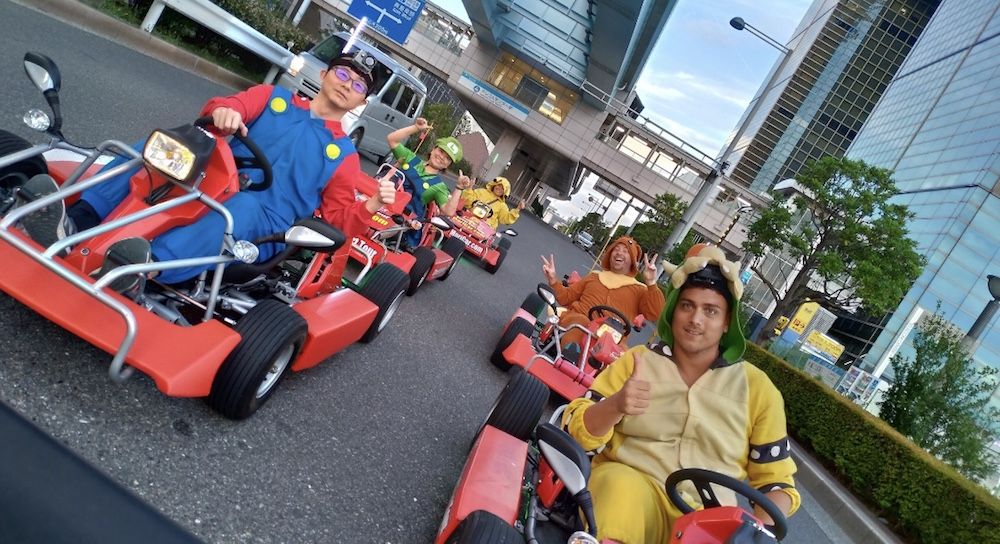 En Karts por las calles de Tokio