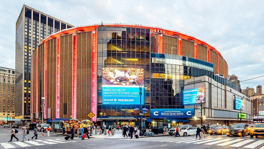 Madison Square Garden , NYC