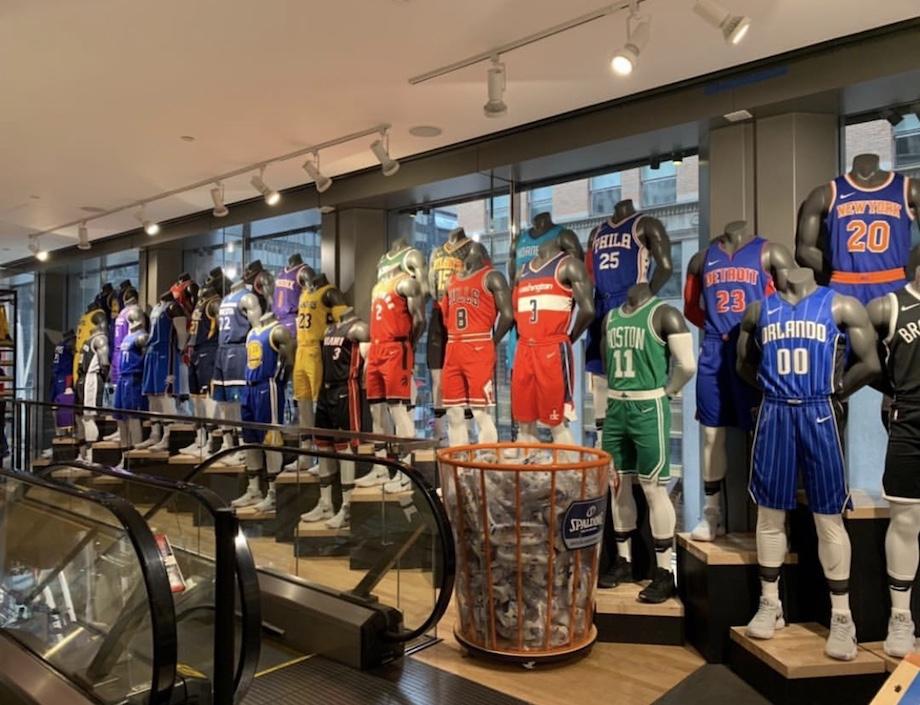 Equipaciones equipos NBA