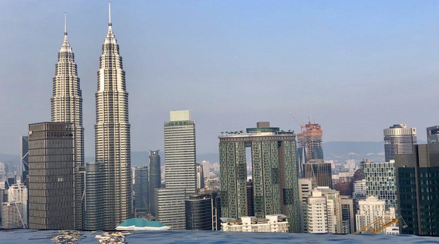Piscina infinita Kuala Lumpur