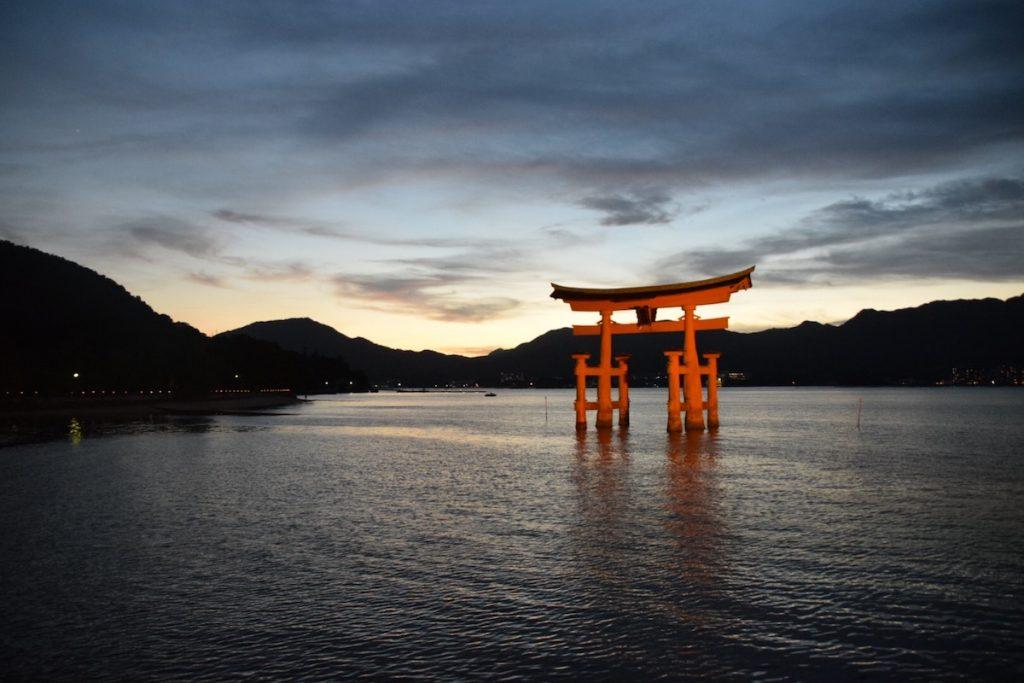Atardecer isla Miyajima