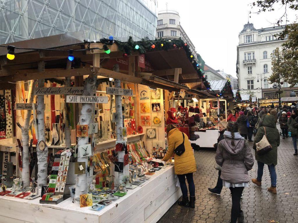 Paradas Mercado Navidad Budapest