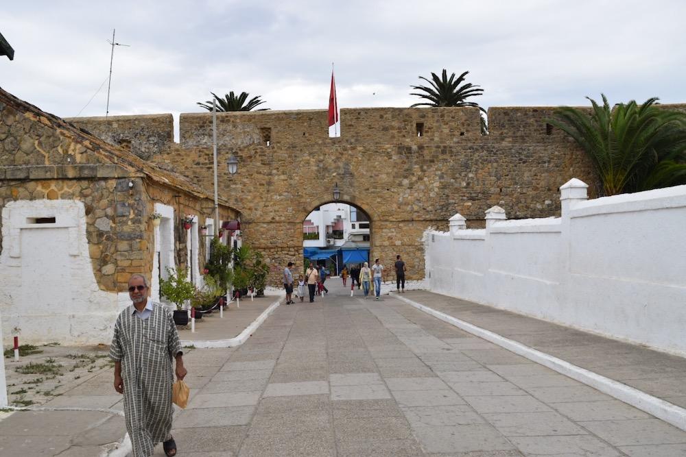 Norte de Marruecos, Asilah, entrada medina