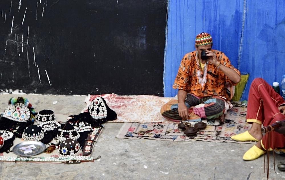 Norte de Marruecos, Asilah, artesanía medina
