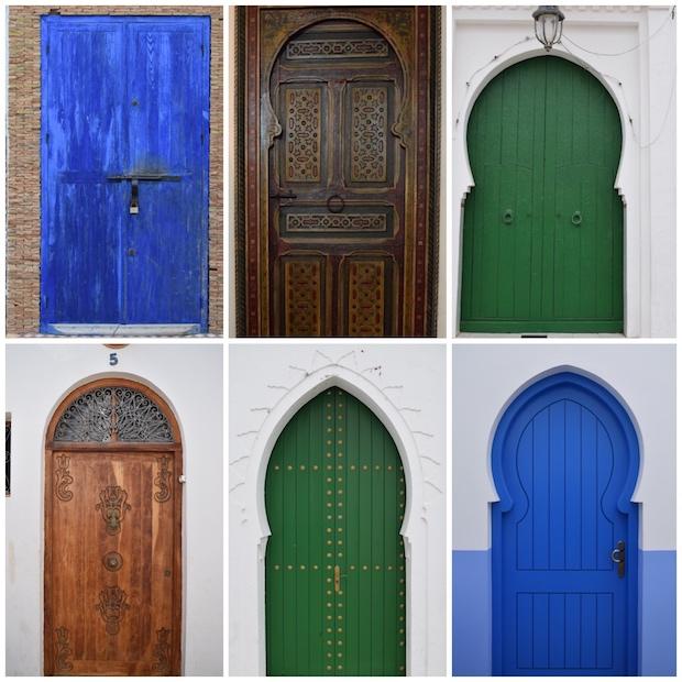 Norte de Marruecos, Asilah, puertas medina