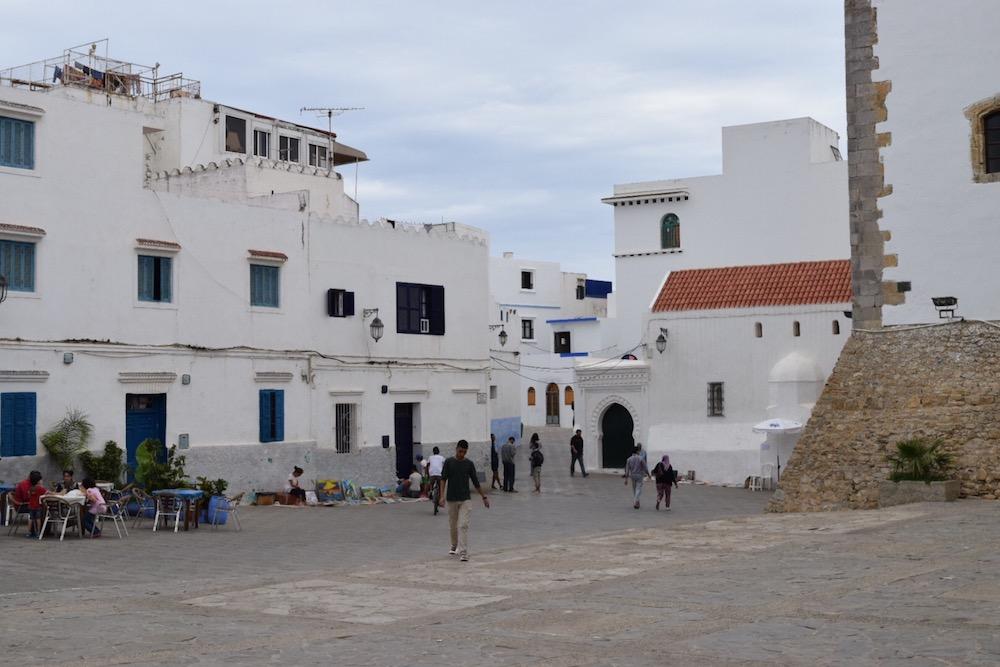 Norte de Marruecos, Asilah, plaza medina