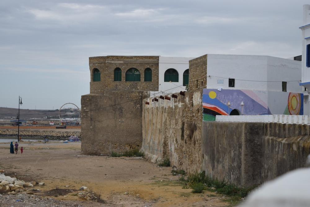 Norte de Marruecos, Asilah, fortificación