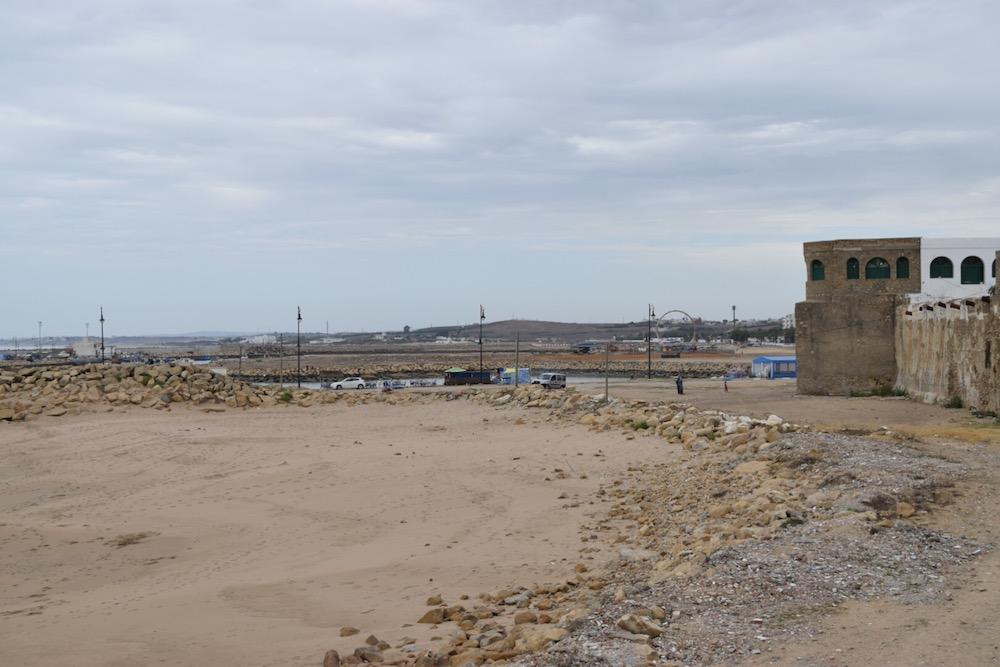 Norte de Marruecos, Asilah, playa