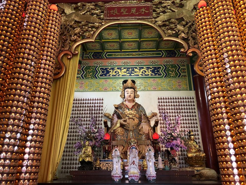 Interior Templo chino, Kuala Lumpur